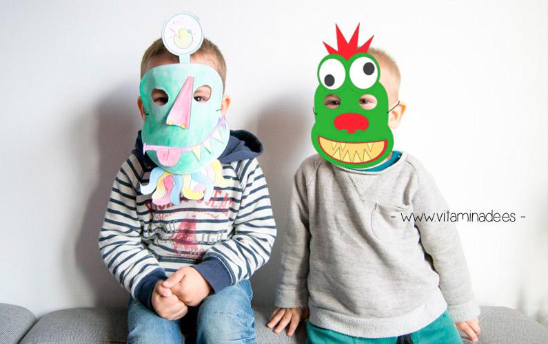 mascaras para hacer en casa