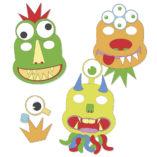 mascaras monstruos diy