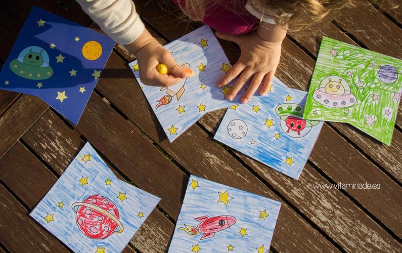 decoracion fiesta infantil para colorear